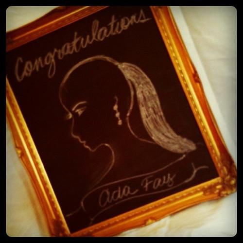 Congratulations Ada Fay