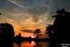 Bayou Courtableau Sunrise (Image Hunter 1) Tags: morning blue sky orange reflection nature water silhouette yellow clouds sunrise dawn early moss louisiana explore spanish bayou swamp spanishmoss cypress marsh cypresstree t2i bayoucourtableau canont2i