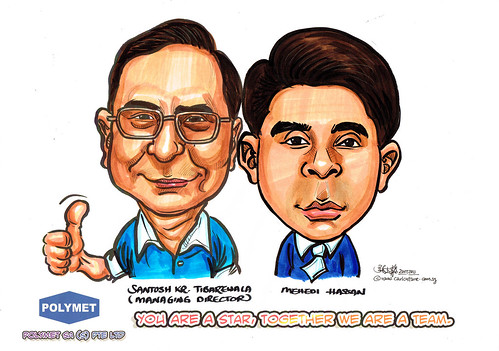 Caricatures for Polymet - 10