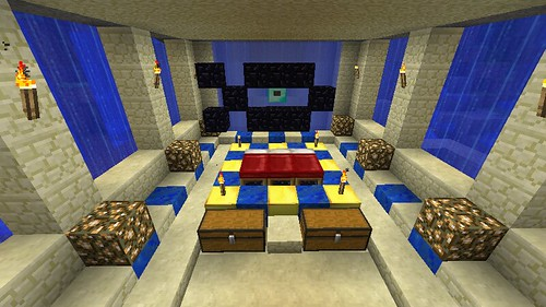 isis style bedroom by deadalready on flickr - Minecraft Design Ideas