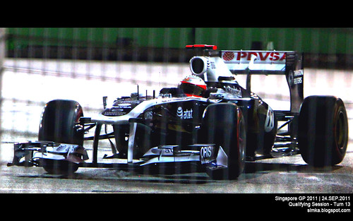 Singapore GP 2011 - F1 Qualifying Session