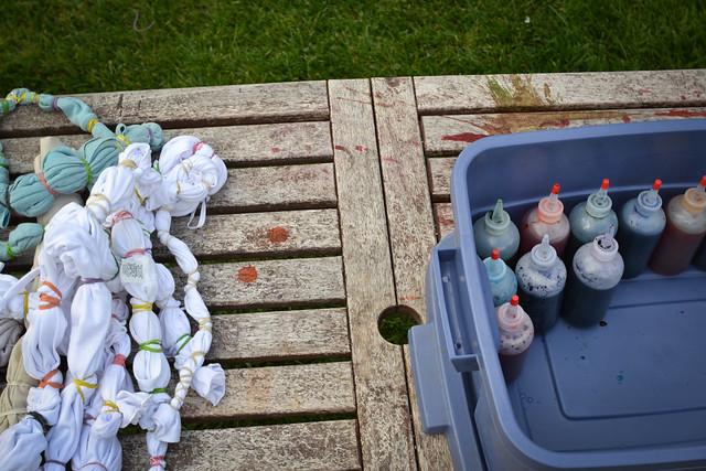 summer 2011 :: backyard tiedye