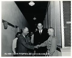 132 Tyndall Field, Florida WWII (rich701) Tags: city bw vintage army war florida wwii worldwarii ww2 airforce graflex speedgraphic tyndall aaf usaaf floridamemory fieldpanama
