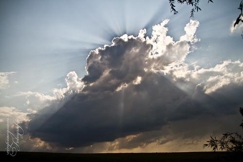 Bedrohliche Wolkenstimmung