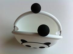パンダのシリコンがまぐち