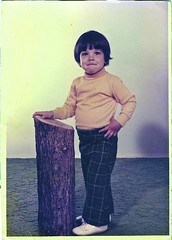 Me & My Special Log (Wires In The Walls) Tags: portrait strange wow log funny child turtleneck 1970s unfortunate bowlcut uglycarpet whitepatentleathershoes dorothyhamillhair seanlewis futurelumberjacksofamerica