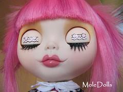 Dulce Kokoro Blythe Custom by MoleDolls