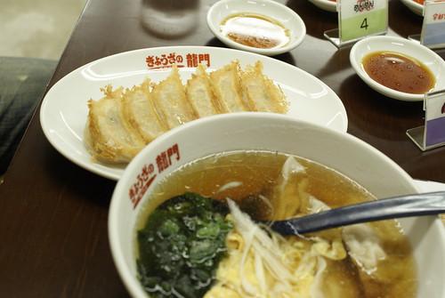 焼き餃子@ぎょうざの龍門
