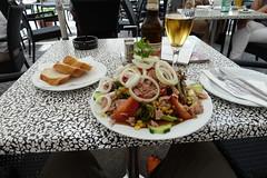 A German salad...huge!