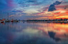 Crystal Cove Sunset (chris lazzery) Tags: sunset boston harbor winthrop massachusetts crystalcove canonef24105mmf4l 5dmarkii