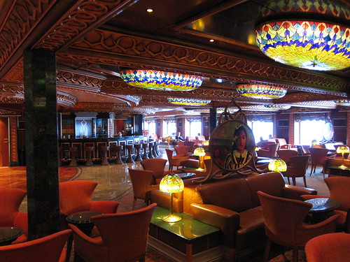 Artists' Lobby Lounge on Carnival Spirit