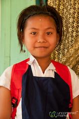 Khashia School Girl - Outside Srimongal, Bangladesh (uncorneredmarket) Tags: school people kids children schoolgirl bangladesh indigenous aes srimongal khashia khashiavillage