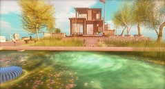 ...i made a big pond... (lindini2) Tags: sl secondlife theseasonshunt l2studio