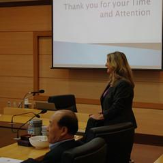 Professor Roberta Flowers presents in Korea_3 (stetsonlawnews) Tags: korea elderly stetson ageism