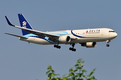 Delta Air Lines - Boeing 767-300ER - N171DZ - Habitat for Humanity - John F. Kennedy International Airport (JFK) - June 27, 2011 2 118 RT CRP (TVL1970) Tags: airplane geotagged nikon aircraft aviation delta jfk habitatforhumanity boeing airlines ge 767 airliners jfkairport winglets generalelectric boeing767 kennedyairport b767 767300 deltaairlines gp1 d90 767332 767300er johnfkennedyinternationalairport b763 cf680 speciallivery boeing767300 cf6 jfkinternational kjfk nikond90 nikkor70300mmvr 70300mmvr 767332er n171dz themounds boeing767300er generalelectriccf6 aviationpartners nikongp1 cf680c2b6f 767300erwl 767332erwl