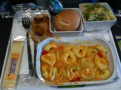 Swiss Air Dinner Service