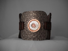 Warrior Cuff (brightcreations1) Tags: leather fashion costume jewelry wrist cuff