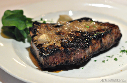 Bone-In Kona Crusted Sirloin at Capital Grille ~ Minneapolis, MN