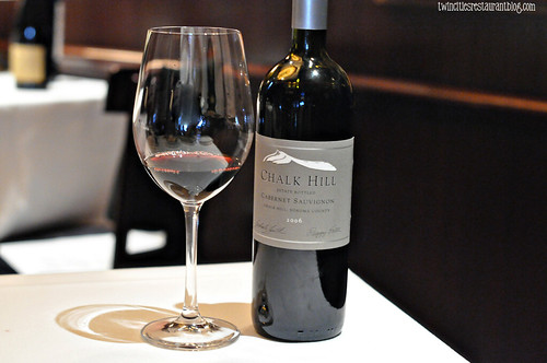 Chalk Hill Cabernet Sauvignon at The Capital Grille ~ Minneapolis, MN