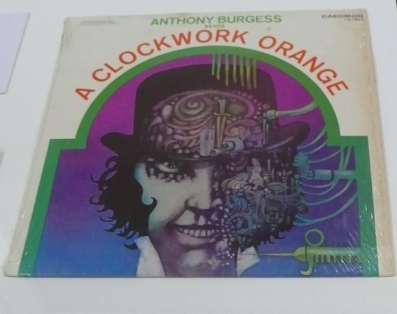 Anthony Burgess reads a clockwork orange