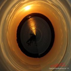 Planet Sunset (Polar Coord effect) (Christoffer Boman) Tags: planet polar archipelago stockholms skrgrd coords