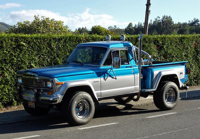 jeep pickup wagoneer