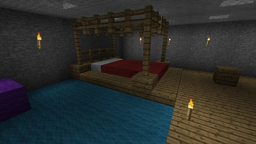 Interior design ideas updated 29 sept 11 screenshots for Bed decoration minecraft