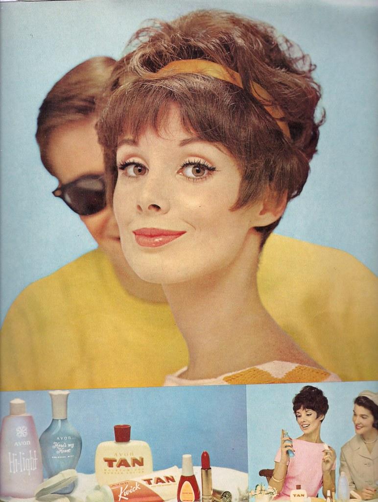 Ad- Avon Cosmetics 1962
