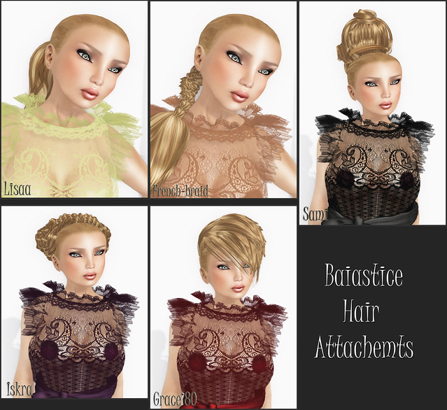 Baiastice Hair Attachments