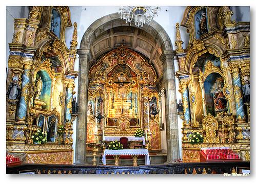 Interior da capela do Bom Jesus by VRfoto