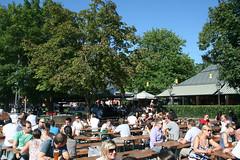 Biergarten Seehaus - Kleinhesselocher See