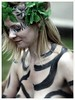 WNBR 2011 CAMOUFLAGE BODY PAINT (pg tips2) Tags: bodypaint blackstripes girl sfw female she blonde makeup portrait face bodyart zebra wnbr 2011 world naked bike ride demo peaceful critical mass bare you dare oil dependency protest london uk june 11 curb car culturesaturday england woman essence body paint painted beauty pretty lady жена представисичесижена гърди зърнонагърда wnbrm paintedlady bareasyoudare bodyfreedom cyclonudista nakedbikeride nbr nakedbike nudebike wnbr2011 2011wnbr