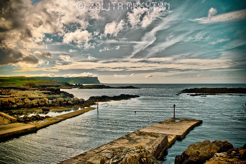 Dunseverick Harbour by xxx zos xxx
