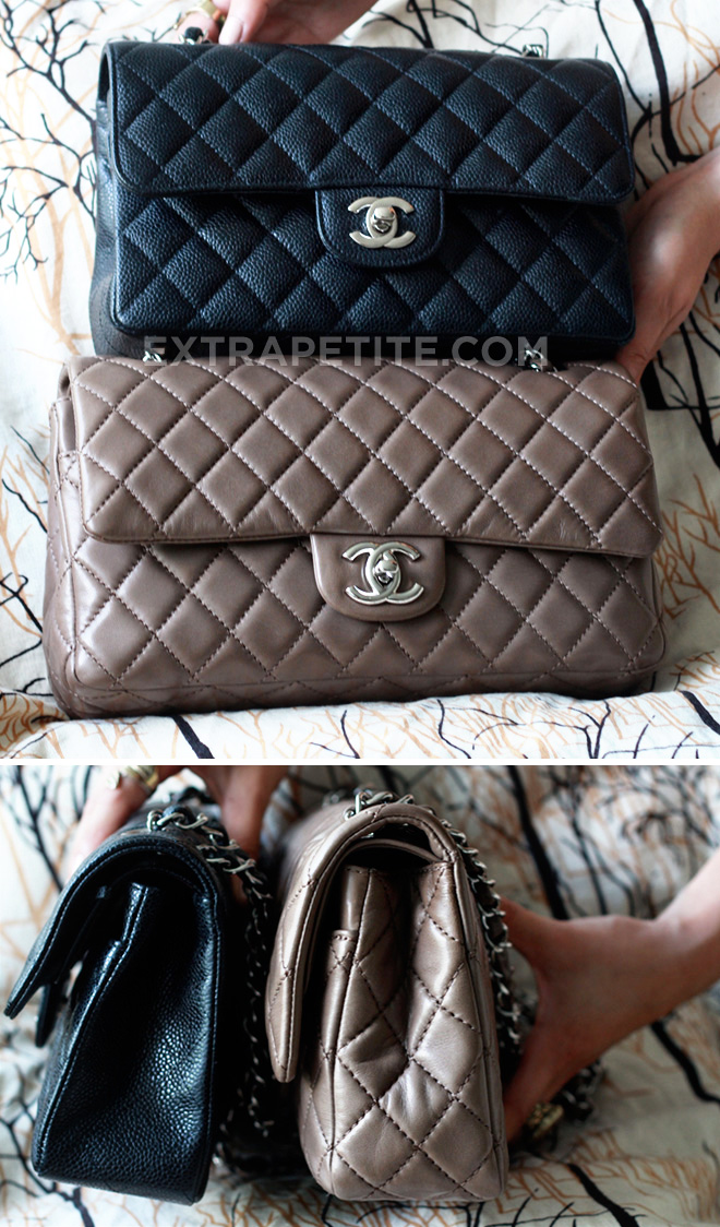 8a92c666f2fa Chanel Classic Flap Bag Medium Vs Small | Stanford Center for ...
