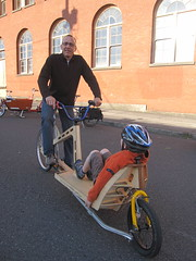cargobike roll call_010 (METROFIETS) Tags: green beer bike bicycle oregon garden portland construction paint nw box handmade steel weld coat transport craft cargo torch frame pdx custom load cirque woodstove builder haul carfree hpm suppenkuche stumptown paragon stp chrisking shimano custombike cargobike handbuilt beerbike workbike bakfiets cycletruck rosecity crafted 4130 bikeportland 2011 braze longjohn paradiselodge seattlebikeexpo nahbs movebybike kcg phillipross bikefun obca ohbs jamienichols boxbike handmadebike oregonhandmadebikeshow nntma hopworks metrofiets cirqueducycling oregonmanifest matthewcaracoglia palletbike oregonframebuilder seattlebikeshow bikefarmer trailheadcoffee cargobikerollcall