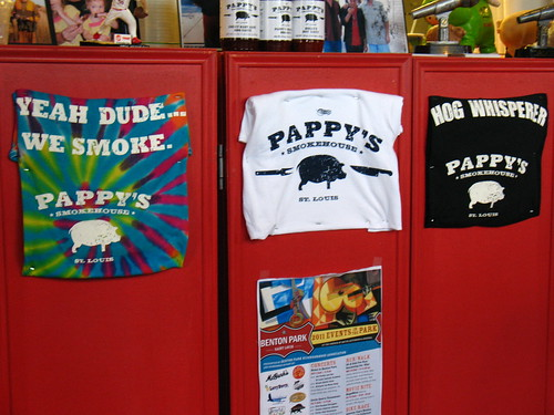 Pappy's Smokehouse: shirts for sale