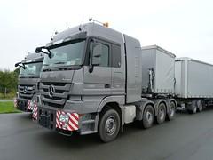 Mercedes Benz Actros MP3 4165 (Actros_4160) Tags: truck mercedes hannover titan lkw actros 4165 goldhofer