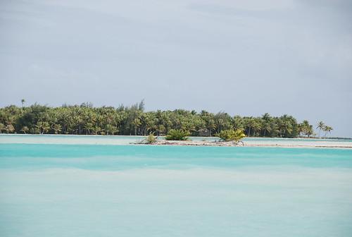ボラボラ島の海