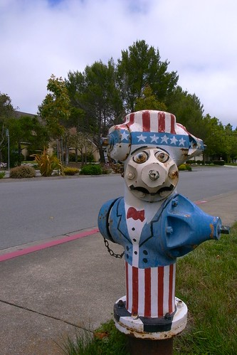 Painted Fire Hydrant