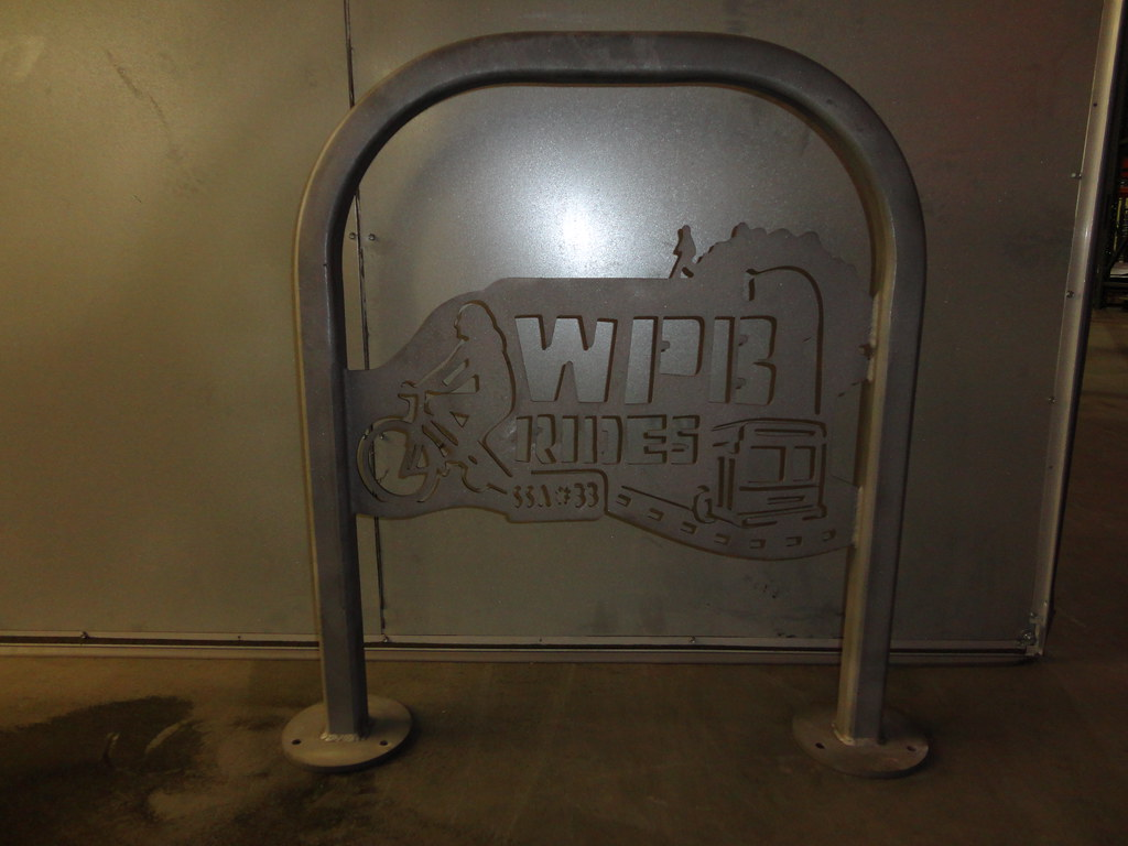 Bike rack for Wicker Park-Bucktown