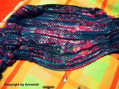 Iris - Goddess of Rainbow Shawl