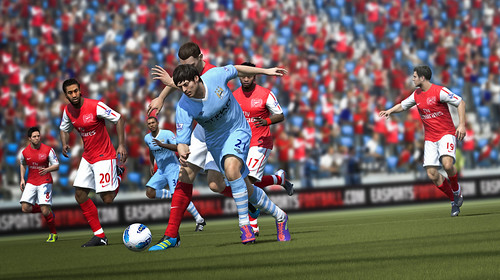 FIFA 12: Man City's Silva on the ball