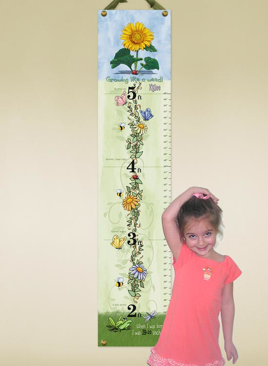 Growing Like a Weed Growth Chart