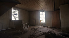 loveshack (alyjaros) Tags: ranch abandoned fire scary haunted creepy abandonedhouse murder ghosts hauntedhouse sigma1020mm scaryhouse canont2i dblringexcellence