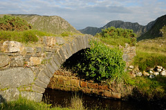 Poisoned-Glen-Old-Bridge (rdspalm) Tags: ireland landscapes nikon gaeltacht donegal realireland irishlandscapes