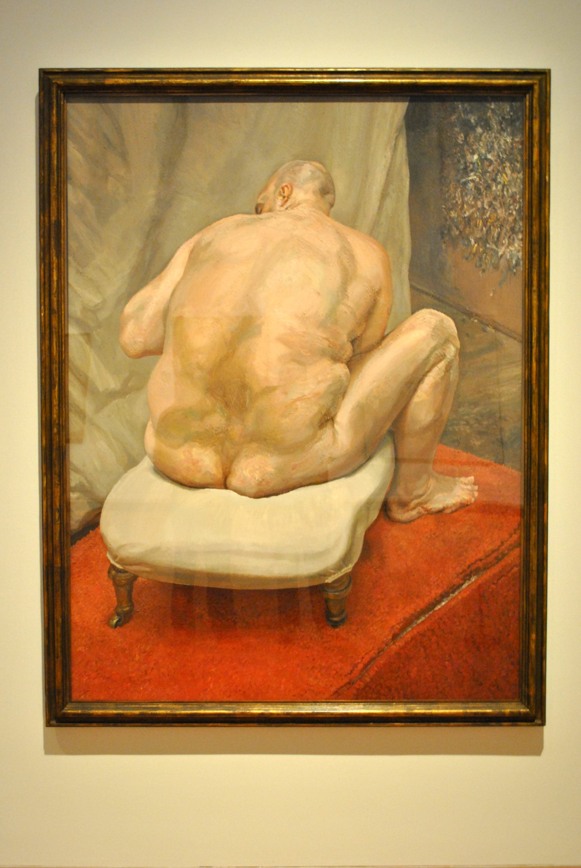 Lucian Freud, Naked Man, Back View, 1991