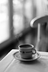 light and steam (jamie {74}) Tags: window coffee 50mm nikon steam jamaica nikkor d7000 jamaicanbluemountaincoffeeyum