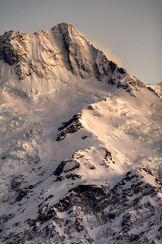 Mt Sefton at dawn