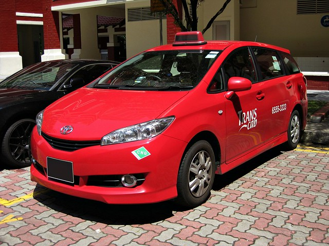 Trans Cab Toyota Wish Taxi