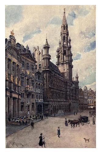 004-Ayuntamiento de Bruselas-Belgium 1908- Amédée Forestier